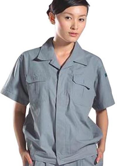 工作服套装短袖工装